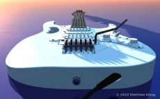 3D Electric Guitar